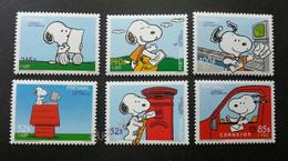 Portugal Cartoon 2000 Animation Comic Dog Postbox Postman Mailbox Postal Service (stamp) MNH - Covers & Documents