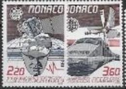 Monaco 1988 N° 1626/1627 Neufs  Europa Transports Et Communications - 1988