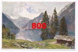 800 E.H.Compton Königssee Kessel Berge Künstlerkarte - Unclassified