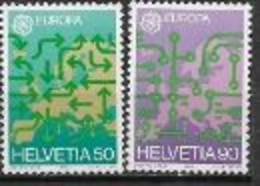Suisse 1988 N° 1298/1299 Neufs  Europa Transports Et Communications - 1988