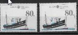 Madère 1988 N° 123/124 Neufs  Europa Transports Et Communications - 1988