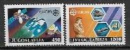 Yougoslavie 1988 N° 2151/2152 Neufs  Europa Transports Et Communications - 1988