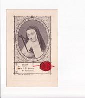 Rélique Du Linge De La V.M. Anne De St Barthélemi - Mechelen 1888 - Religion &  Esoterik