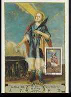Liechtenstein Maxicard 2003 14. Heilige (Nothelfer) (G125-55) - Maximumkaarten