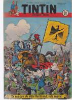 TINTIN N°28   1950     Bob De Moor - Tintin