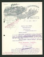Facture Mons 1922, Brasserie Valere Segard, Fabrikgelände - Non Classificati