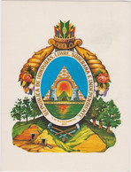 Honduras Escudo National - Honduras