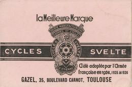Cycles Svelte  Buvard Gazel, 25 , Boulevard Carnot, Toulouse - Bikes & Mopeds