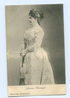 Y8839/ Schauspielerin Johanna Neumeyer  Hamburger Stadttheater AK Ca.1900 - Artistes