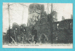 * Villers La Ville (Waals Brabant - La Wallonie) * (Imp Pap Charlier Niset Wavre) Abbaye De Villers, église, Ruines - Villers-la-Ville