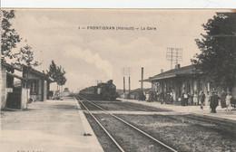 Frontignan (Hérault) - La Gare - Frontignan