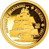 Monnaie, Vanuatu, SMS Europa, 20 Vatu, 2008, Valcambi, FDC, Or, KM:56 - Vanuatu