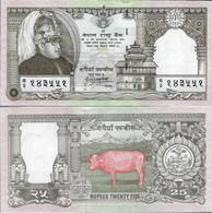 Nepal 1997 - 25 Rupees - Pick 41 UNC COMMEMORATIVE - Nepal