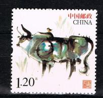 K 001 ++ CHINA 2020 NEW YEAR OX POSTFRIS MNH NEUF ** - Unused Stamps