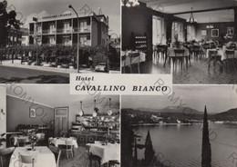 CARTOLINA  GARDA,LAGO DI GARDA,VERONA,VENETO,HOTEL CAVALLINO BIANCO,STORIA,BARCHE A VELA,RIPOSO,VACANZE,VIAGGIATA 1971 - Verona