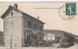 Marey-sur-Tille (Côte D'Or) - La Gare - Non Classificati