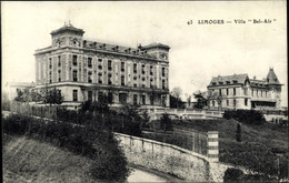 CPA Limoges Haute Vienne, Villa Bel Air - Other Municipalities