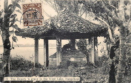 China - Hankou - Hangchow - The Beauty ' S Grave In The West Lake - N° 31 - China