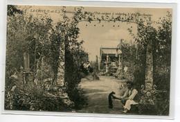 37 LA CROIX Carte RARE Robinson 1000 Mottes Parc Potries  Art Brut  L'Allée Des Soupirs 1913    D11  2021 - Other Municipalities