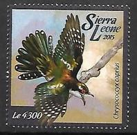 Sierra Leona - MNH ** 2015 :   Diederik Cuckoo -   Chrysococcyx Caprius - Kuckucke & Turakos