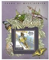 Sierra Leona - MNH ** 2015 :       Levaillant's Cuckoo  -  Clamator Levaillantii - Kuckucke & Turakos