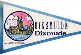 OUDE VAANTJE BELGIE / DIKSMUIDE / DIXMUDE /STADHUIS   (VAANTJE - WIMPEL - PENNANT) - Obj. 'Souvenir De'