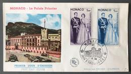 Monaco, Poste Aérienne Sur FDC 1.6.1960 - (C1141) - FDC