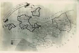 Stavelot, Photo (vers 1950) D'une Carte 18ème De La Principauté - Stavelot