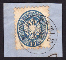 AUSTRIA / ÖSTERREICH - LEVANT - 1864 ( 10 SLD - Mi. V 22 ) - STEMPEL : PLOJESTIE [ PLOIESTI - ROMANIA ] - RRR !!! (ag602 - Oostenrijkse Levant