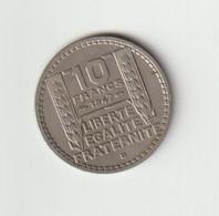 10 Francs 1947 B - K. 10 Franchi