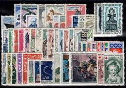 Année Complete 1962 N** YV 1325 à 1367 Cote 54 Euros - 1960-1969