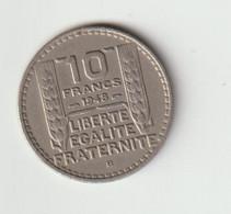 10 Francs 1948 B - K. 10 Franchi