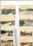 Lessines Deux Acren    Ath Dender Dendre  8 Photo 9.5 X 6.5 Cm - Guerre, Militaire