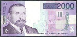Belgium - 2000 Francs 1994 - 2001 - Pick 151 - Rare - 2000 Francs