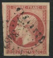 France (1859) N 17B (o) - 1853-1860 Napoleon III
