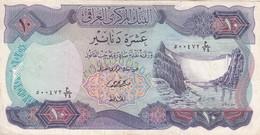 IRAQ 10 DINARS 1973 P-65 VF SERIES 24 - Iraq