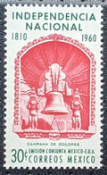 Mexico, 1960, Mi 1093,The 150th Anniversary Of Independence, Bells Of Dolores, 1v Out Of Set, MNH - Musica