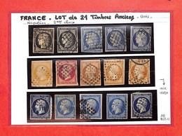LOT De 21 Timbres Ceres Et Napoléon - 2eme Choix  - Voir Scan - (DD-A67-01 ) - Colecciones Completas