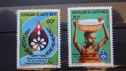 1983 Yv 595-596 MNH A53 - Alto Volta (1958-1984)