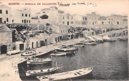 CPA - Espana / Spain - MAHON ( Menorca ),  Muelle De Calasfons - Menorca