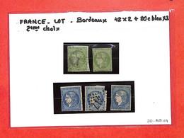 LOT De 5 Timbres  Bordeaux-2eme Choix  - Voir Scan - (DD-A67-04) - Collections