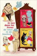 Blok 179** Met De Neus In De Boeken / Bloc 179 MNH Le Nez Dans Les Livres 4002/03** - Blocs 1962-....