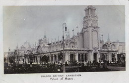 AP94 Franco British Exhibition, Palace Of Music - RPPC - Esposizioni