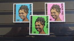 1989 Yv 812-814 MNH A53 - Burkina Faso (1984-...)