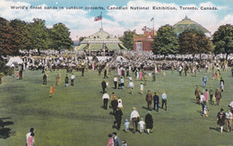 AT23 Canadian National Exhibition, Toronto, World's Finest Bands In Outdoor Concerts - Esposizioni