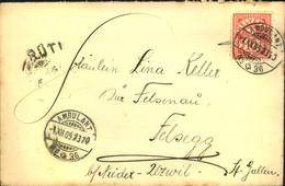 1946, Pro Patria-Ausgabe Als Satzbrief Mit österreichischer Zensur Aus Der Französischen Zone - 471/474 - Covers & Documents