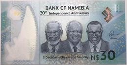 Namibie - 30 Dollars - 2020 - PICK 18a - NEUF - Namibia