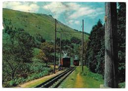 MONTE LARUN - Cruce Del Ferrocarril De Cremallera - Chemin De Fer à Crémaillère - Rack Railway - Ed. NAYLLA - Other Municipalities