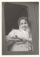 11678.  Fotografia Vintage Donne Femme Dal Finesrtino Treno Anni '50 Italia - 10,5x7,5 - Treinen