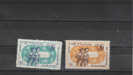 Jeux échecs - VIETNAM 1983 2 Timbres  ** Neufs Sans Charnière - Echecs